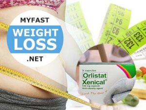 Lose weight. Xenical promotes weight loss by blocking absorption of fat